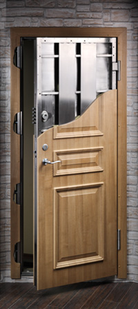 Zentry Gold Class 3 Security Front Door